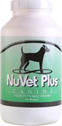 Nuvet Plus Vitamin Supplement For Dogs